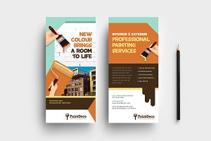 Painter & Decorator DL Card Template