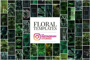 Floral Instagram Stories Templates