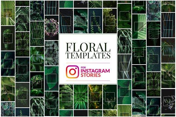 Floral Instagram Stories Templates