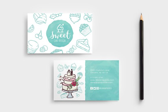 Cake shop business card template business card templates cake shop business card template cheaphphosting Choice Image