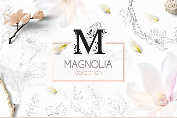 Objects - ❀Magnolia collection❀