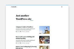 Wordsmith - A Wordpress Blog Theme