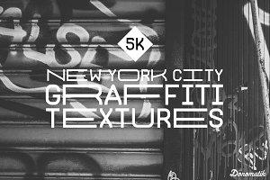 5K NYC Graffiti Texture Pack (10)