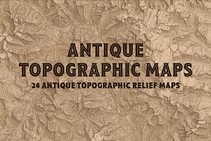 Antique Topographic Maps