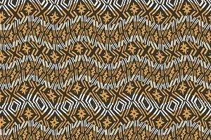 Modern Wavy Geometric Pattern