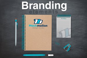 Branding Elements Mock-up
