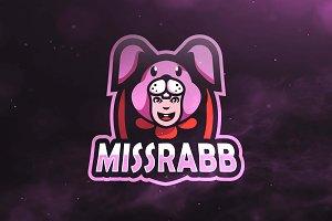 Missrabb Sport and Esports Logo