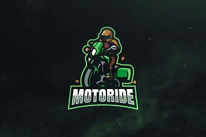 Motoride Sport and Esports Logo