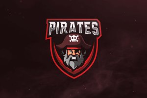 Pirates Sport and Esports Logo