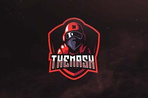 The Mask Sport and Esports Logo