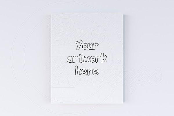 "Canvas size 11x14"" creator mockup"