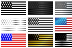 ONLY 7$ !!! American flag collection
