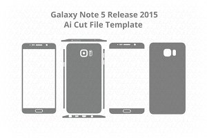 Samsung Galaxy Note 5/Decal Cut File