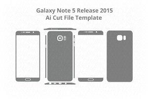 Samsung Galaxy Note 5/Decal Cut File