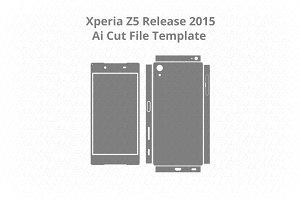 Sony Xperia Z5 / Decal Cut File Ai