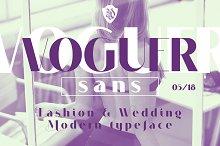 VOGUER Sans by Andriy Dykun in Sans Serif Fonts