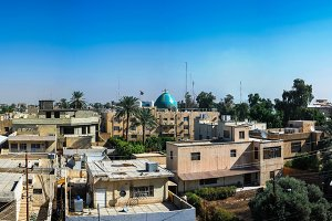 Panorama view to Baghdad, Iraq