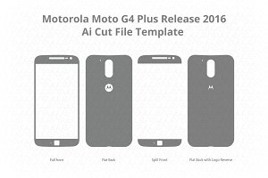 Motorola Moto G4 Plus Skin Cut File