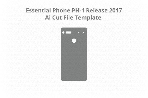 Essential Phone PH- 1 Vinyl Skin Cut