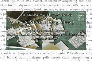 1676 Morden Map Pro OTF