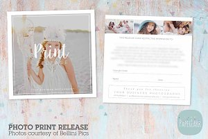 VG021 Photography Print Release Card