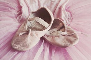 70% OFF! Ballet Shoes Ballerina Tutu