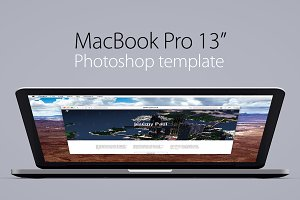 "MacBook Pro 13"" retina template"