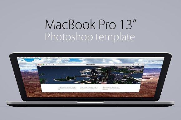 macbook pro 13 retina template product mockups creative market