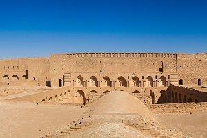 Roof View of Al-Ukhaidir Fortress near Karbala Iraq