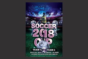 Soccer World Cup Flyer