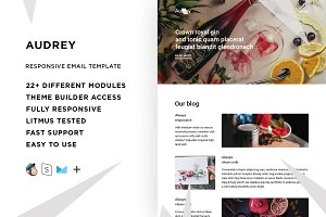 Audrey – Email template + Builder