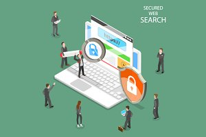 Secure web search