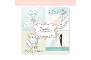 Wedding Invitations, Card Templates