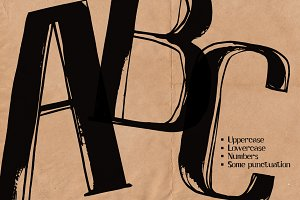 AFISHA PREMIERE/ hand lettered font