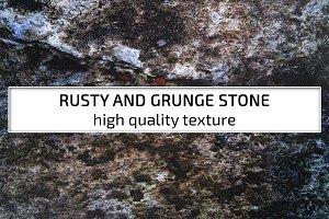 Rusty and Grunge stone