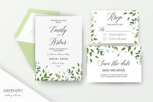 Wedding collection - Greenery