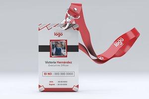 Simple Creative ID Card Design