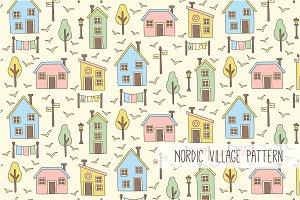 Nordic Scandinavian Village Story