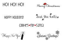 Holiday Photo Overlays