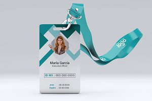 Abstract Identification or Id Card