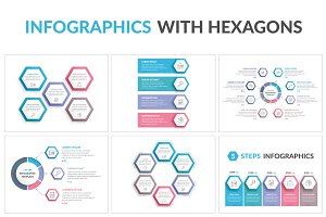 Infographics with Hexagons