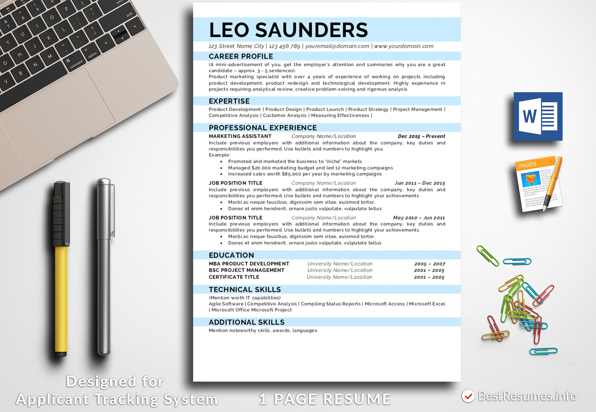 simple resume template resume templates creative market