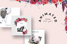 ANIMATED Instagram Posts - Wedding  by CreativeFolks in Social Media