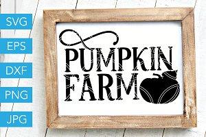 Pumpkin Farm SVG Fall SVG Farm SVG