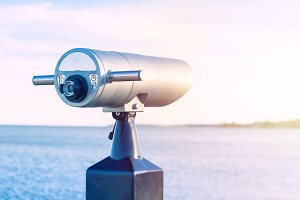 Coin Operated Binocular viewer