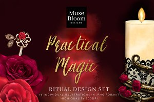 Practical Magic Ritual Illustrations