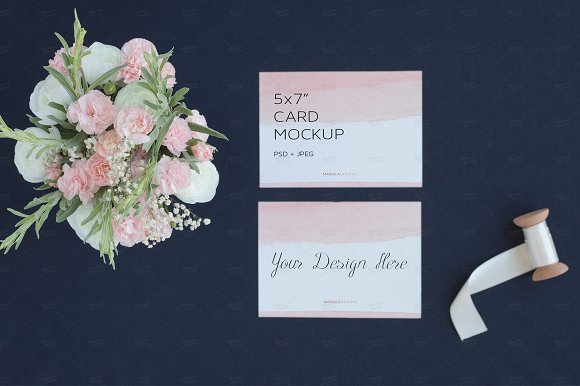 Wedding Stationery Cards Mockup