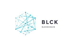 Template label for blockchain technology