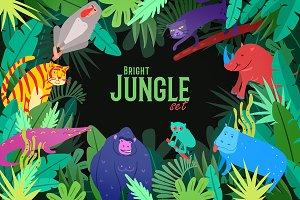 Bright Jungle Set