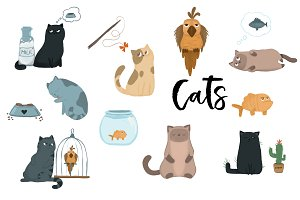 Cats Illustration